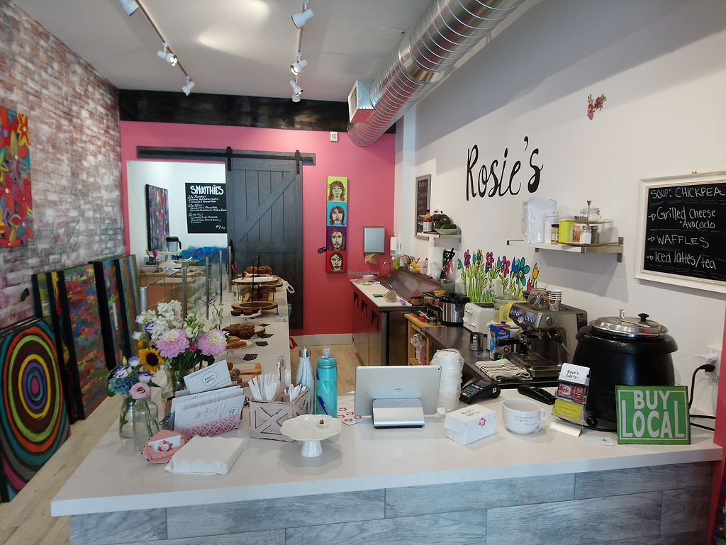 """Photo of Rosie's Eatery  by <a href=""""/members/profile/Vegan%20GiGi"""">Vegan GiGi</a> <br/>Rosie's Eatery <br/> July 29, 2017  - <a href='/contact/abuse/image/92240/286006'>Report</a>"""