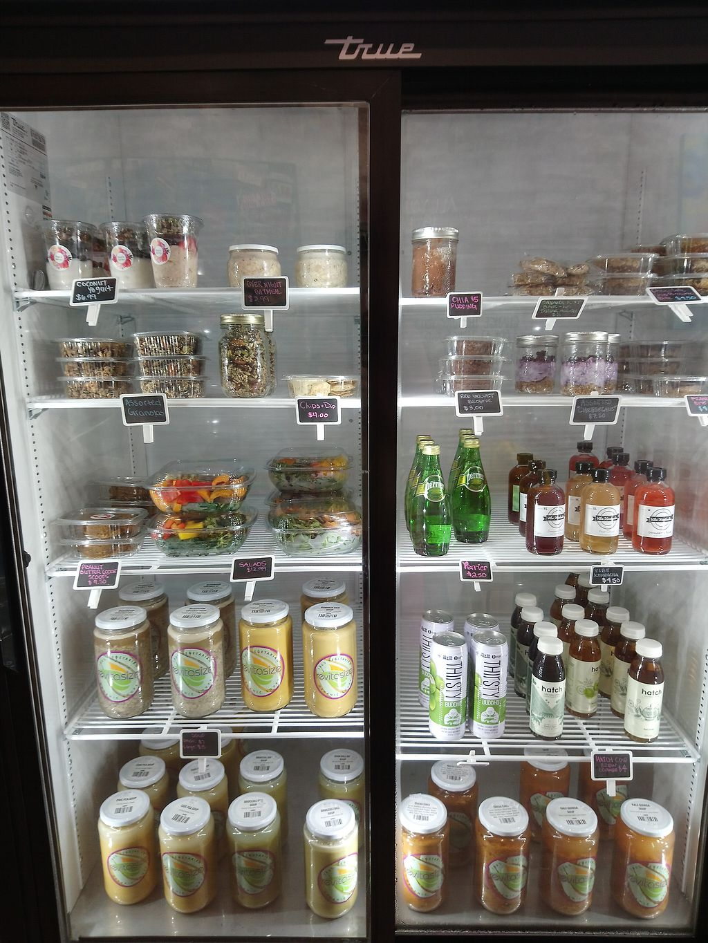 """Photo of Rosie's Eatery  by <a href=""""/members/profile/Vegan%20GiGi"""">Vegan GiGi</a> <br/>Ready to go items from the fridge at Rosie's Eatery <br/> July 29, 2017  - <a href='/contact/abuse/image/92240/286011'>Report</a>"""