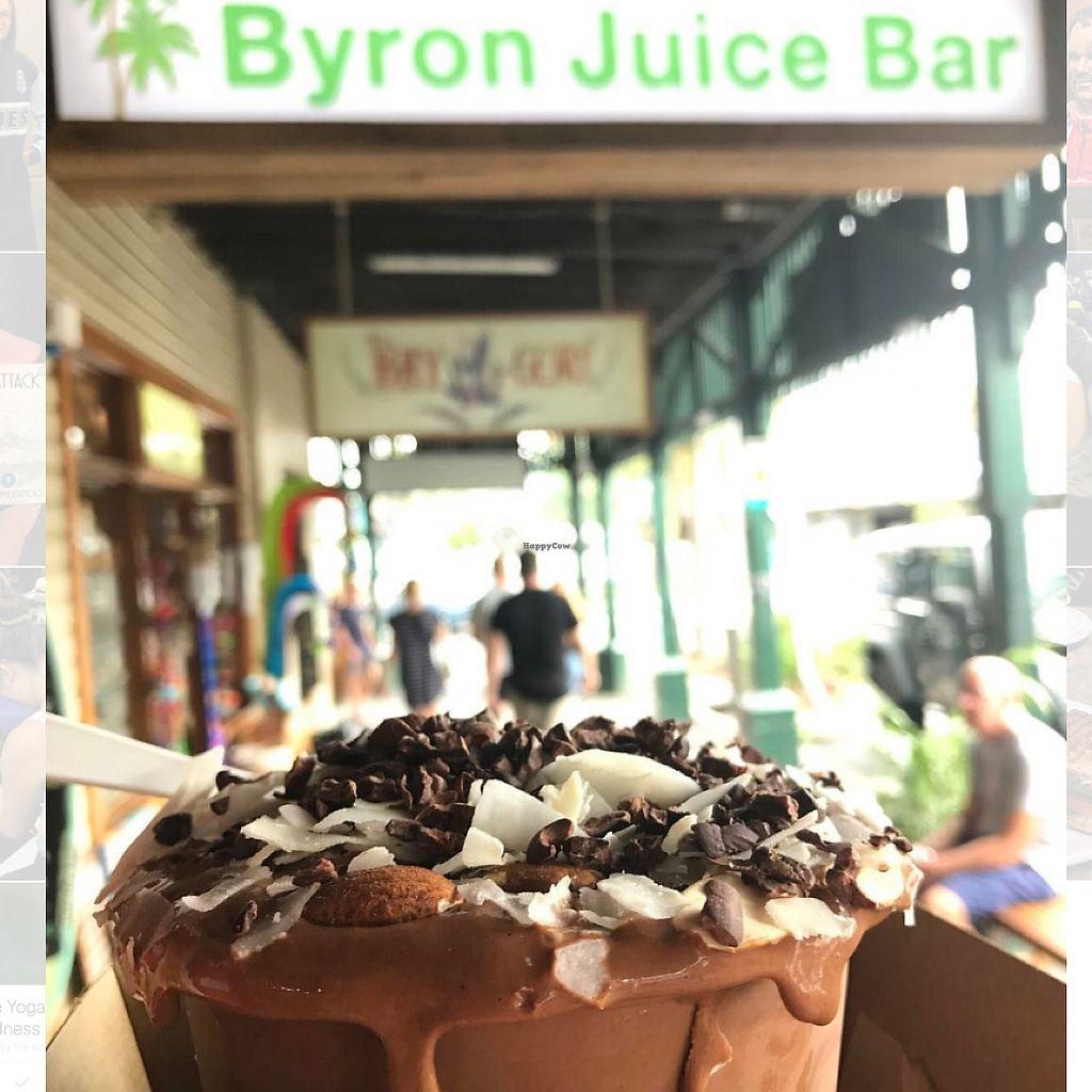 "Photo of Byron Juice Bar  by <a href=""/members/profile/De_vegyn"">De_vegyn</a> <br/>chocolate smoothie bowl  <br/> June 21, 2017  - <a href='/contact/abuse/image/92276/271796'>Report</a>"