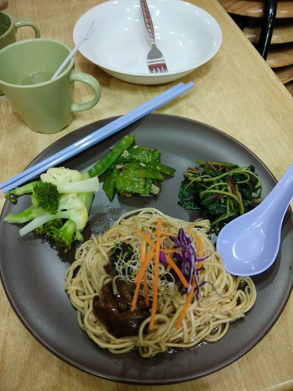 """Photo of Ananda Home - Yishun  by <a href=""""/members/profile/JimmySeah"""">JimmySeah</a> <br/>noodles with organic vegetables  <br/> May 18, 2017  - <a href='/contact/abuse/image/92289/259673'>Report</a>"""