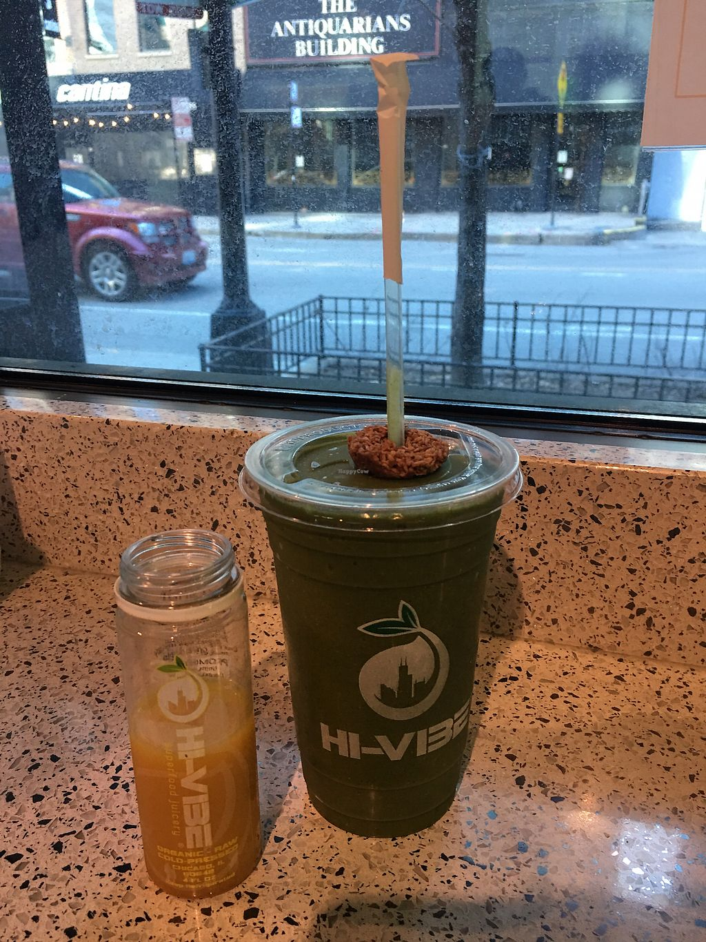 """Photo of Hi-Vibe Superfood Juicery  by <a href=""""/members/profile/GeorgiaLippi"""">GeorgiaLippi</a> <br/>green velvet! <br/> March 10, 2018  - <a href='/contact/abuse/image/92316/368930'>Report</a>"""