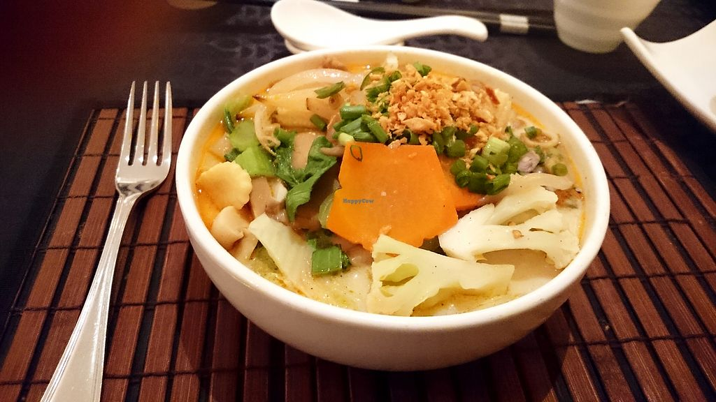 """Photo of Noodles - Cinnamon Grand Hotel  by <a href=""""/members/profile/Chalice777"""">Chalice777</a> <br/>Vegan laksa  <br/> October 18, 2017  - <a href='/contact/abuse/image/92329/316239'>Report</a>"""