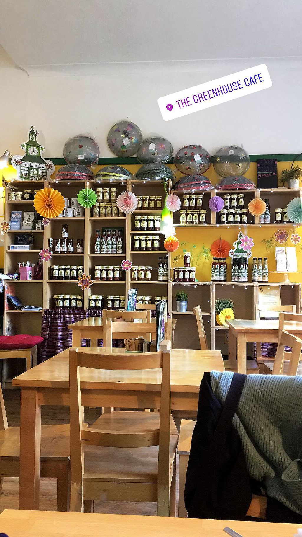 """Photo of The Greenhouse Cafe  by <a href=""""/members/profile/FreyaStewart-Grant"""">FreyaStewart-Grant</a> <br/>Interior  <br/> February 16, 2018  - <a href='/contact/abuse/image/92338/360152'>Report</a>"""