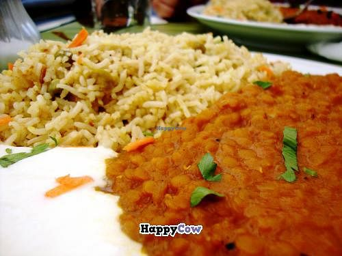 "Photo of Cafe Habibi  by <a href=""/members/profile/SueClesh"">SueClesh</a> <br/>daal with biryani <br/> July 7, 2013  - <a href='/contact/abuse/image/9233/50941'>Report</a>"