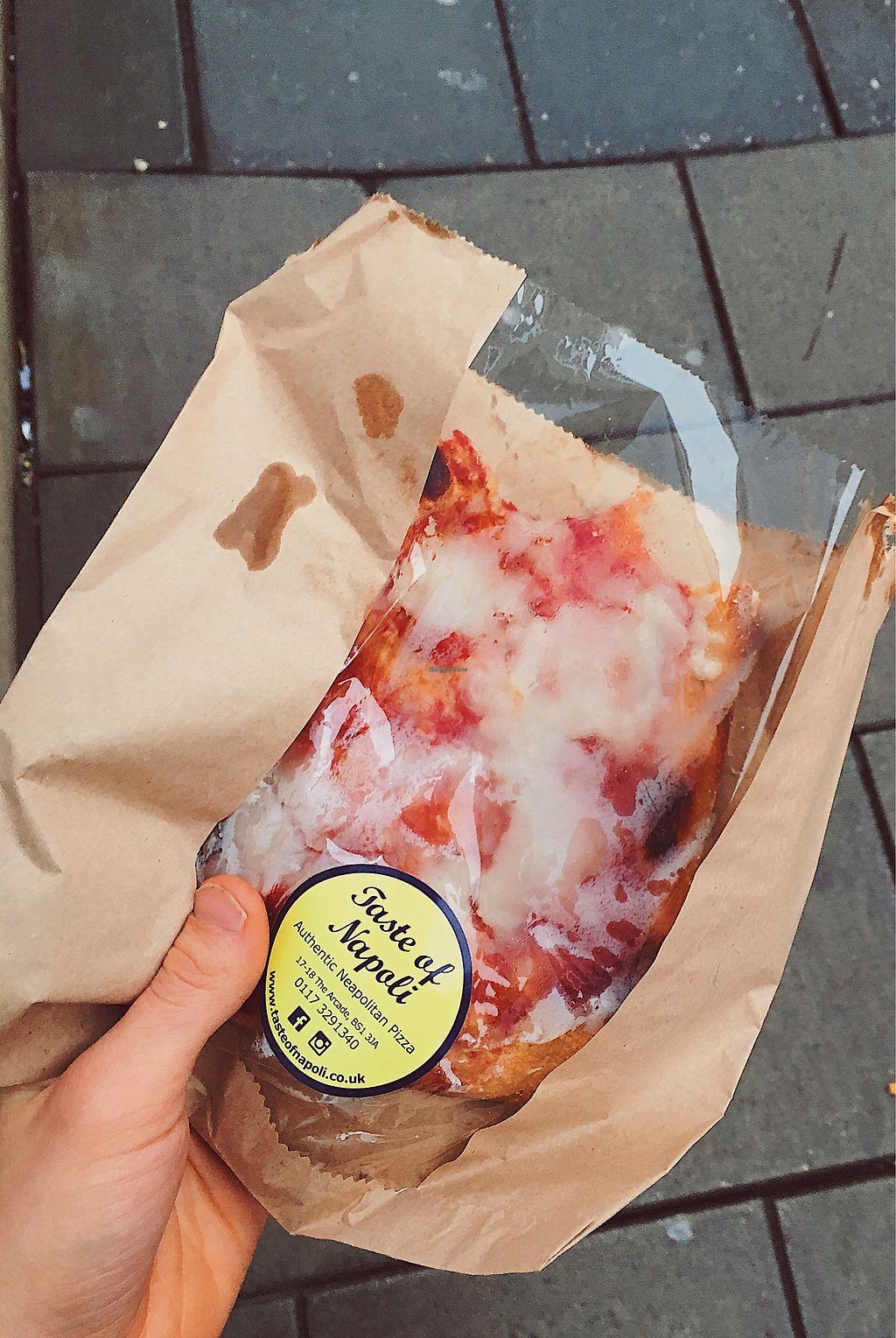 "Photo of Taste of Napoli  by <a href=""/members/profile/treehousecanoe"">treehousecanoe</a> <br/>Pizza al taglio  <br/> January 4, 2018  - <a href='/contact/abuse/image/92357/342869'>Report</a>"