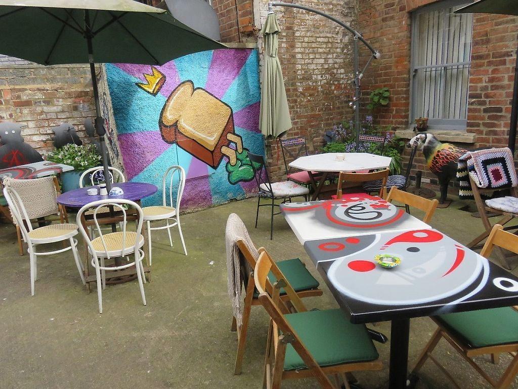 """Photo of Peppers   by <a href=""""/members/profile/Peppers-Cafe"""">Peppers-Cafe</a> <br/>Hidden courtyard seating - a haven of peace <br/> May 29, 2017  - <a href='/contact/abuse/image/92362/263808'>Report</a>"""
