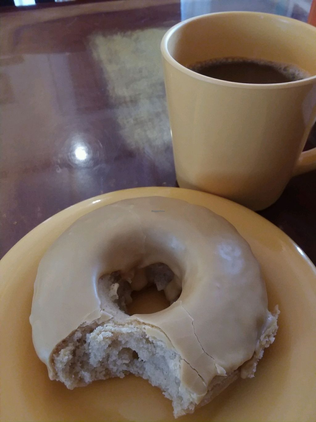 """Photo of Kahiau's Bakery & Cafe  by <a href=""""/members/profile/Tellitlikeitis"""">Tellitlikeitis</a> <br/>Donut & Coffee <br/> April 9, 2018  - <a href='/contact/abuse/image/92367/382913'>Report</a>"""