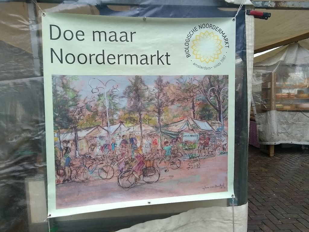 """Photo of Boerenmarkt op de Noordermarkt  by <a href=""""/members/profile/thenaturalfusions"""">thenaturalfusions</a> <br/>Organic market Amsterdam on saturdays <br/> May 19, 2017  - <a href='/contact/abuse/image/92370/260402'>Report</a>"""