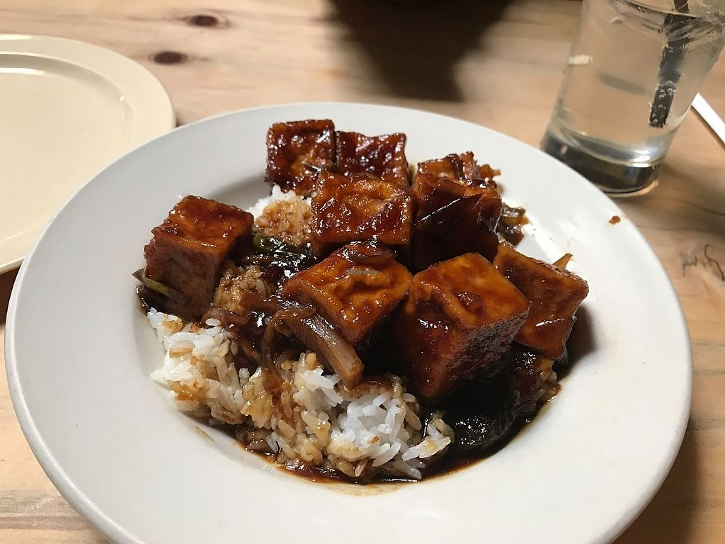 """Photo of Kingston 11 Cuisine  by <a href=""""/members/profile/Tigra220"""">Tigra220</a> <br/>Black Pepper Tofu <br/> May 18, 2017  - <a href='/contact/abuse/image/92380/259701'>Report</a>"""