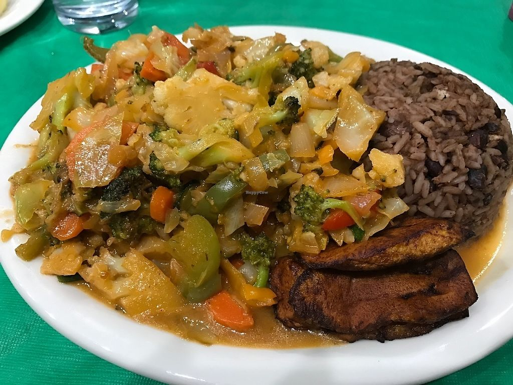 """Photo of Sweet Fingers Restaurant  by <a href=""""/members/profile/Tigra220"""">Tigra220</a> <br/>Jerk Vegetables (extra spicy) <br/> May 18, 2017  - <a href='/contact/abuse/image/92381/259709'>Report</a>"""