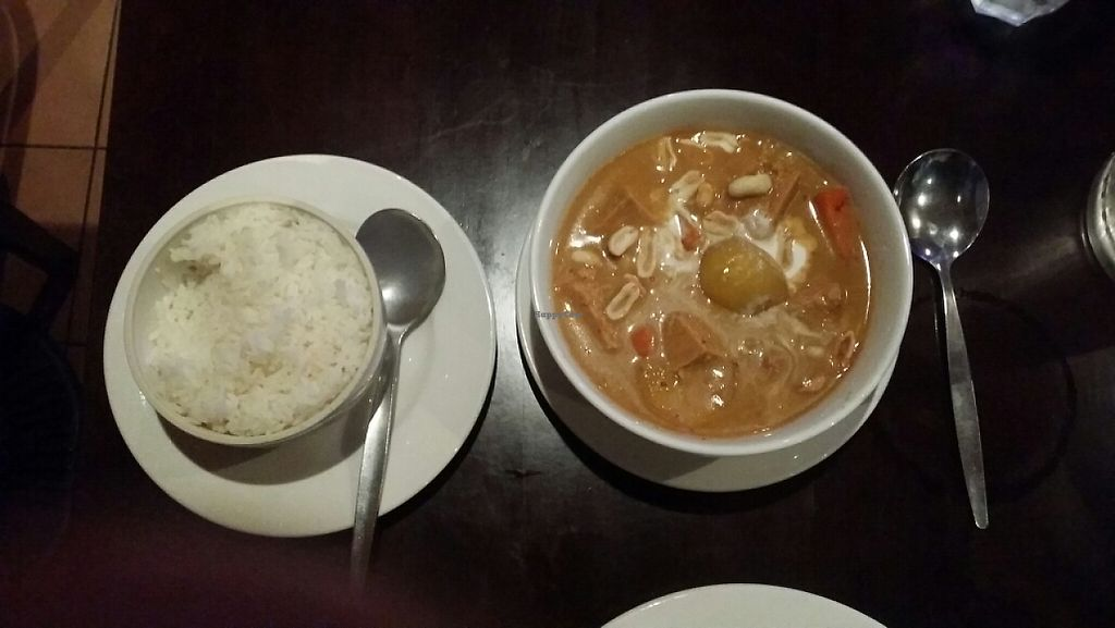 "Photo of PingAn Veggie Time  by <a href=""/members/profile/Mike%20Munsie"">Mike Munsie</a> <br/>massaman curry with rice <br/> May 23, 2017  - <a href='/contact/abuse/image/92387/261724'>Report</a>"