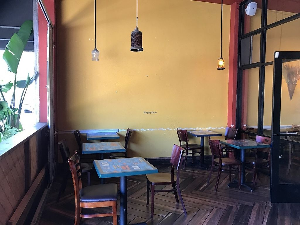 "Photo of Enssaro Ethiopian Restaurant  by <a href=""/members/profile/Tigra220"">Tigra220</a> <br/>patio area <br/> May 19, 2017  - <a href='/contact/abuse/image/92389/260259'>Report</a>"