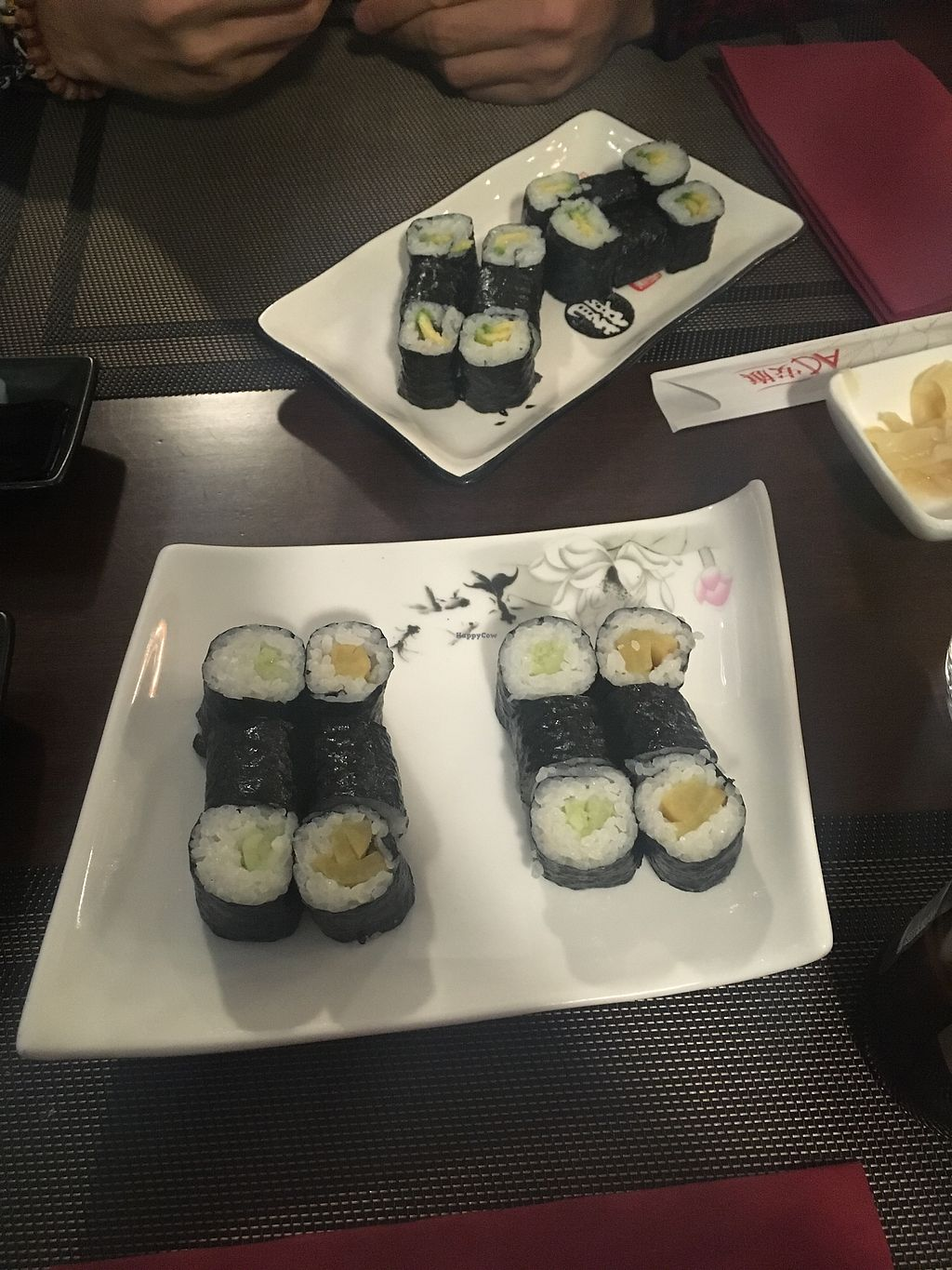 """Photo of U Sushi  by <a href=""""/members/profile/_zelisa"""">_zelisa</a> <br/>Veggie rolls  <br/> March 3, 2018  - <a href='/contact/abuse/image/92408/366249'>Report</a>"""