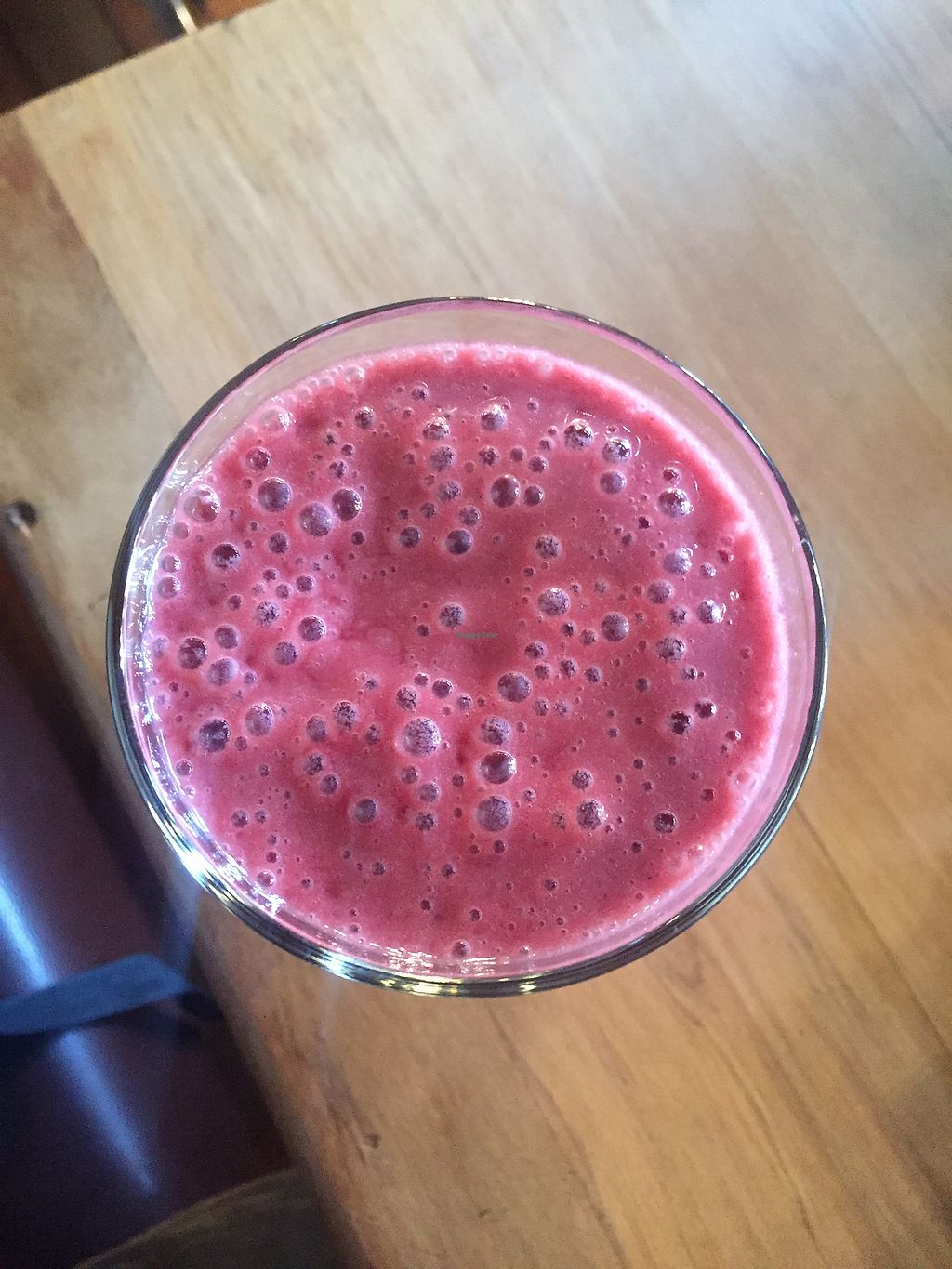 """Photo of C1 Espresso  by <a href=""""/members/profile/Tiggy"""">Tiggy</a> <br/>Vegan berry smoothie $8.90 - Delicious <br/> January 26, 2018  - <a href='/contact/abuse/image/92441/351244'>Report</a>"""