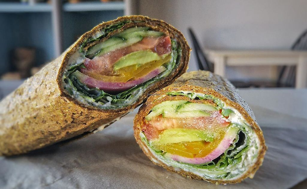 """Photo of Lola's Cafe  by <a href=""""/members/profile/community5"""">community5</a> <br/>Raw vegan wrap <br/> May 19, 2017  - <a href='/contact/abuse/image/92451/260382'>Report</a>"""