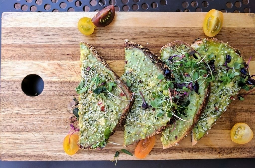 """Photo of Lola's Cafe  by <a href=""""/members/profile/Bgilly"""">Bgilly</a> <br/>Avocado toast <br/> May 20, 2017  - <a href='/contact/abuse/image/92451/260640'>Report</a>"""