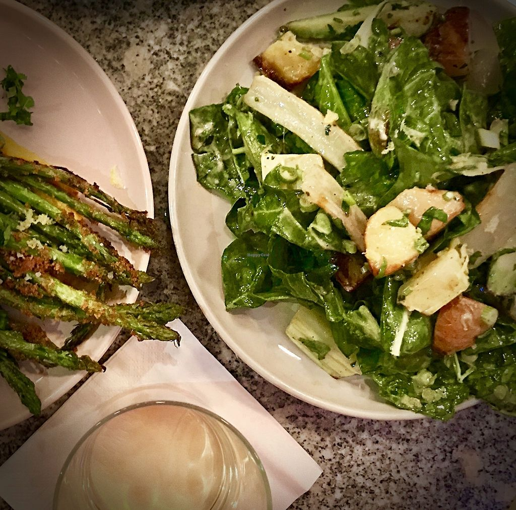 "Photo of Bana  by <a href=""/members/profile/Dharmalivi"">Dharmalivi</a> <br/>Asparagus and warm salad <br/> December 14, 2017  - <a href='/contact/abuse/image/92456/335542'>Report</a>"