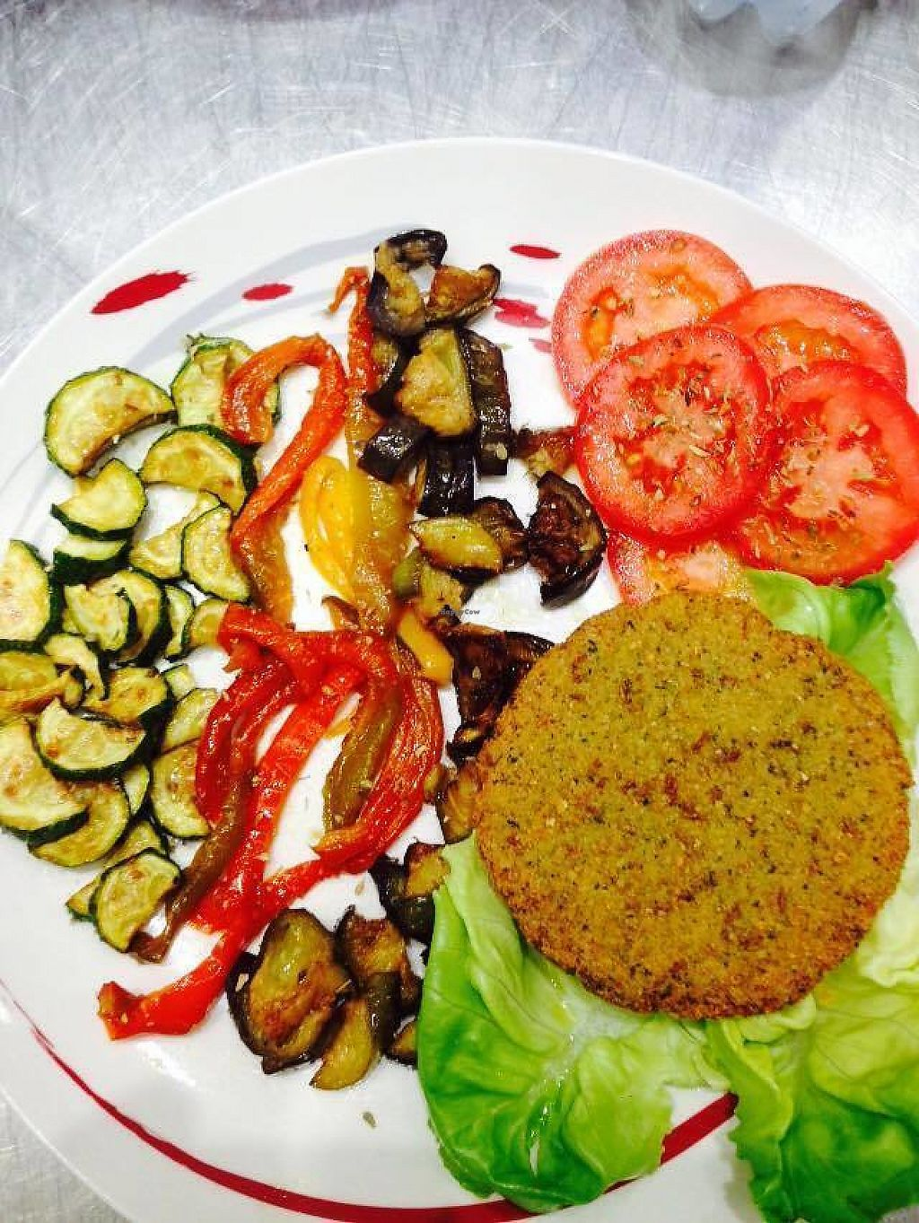 """Photo of Bar Meeting  by <a href=""""/members/profile/community5"""">community5</a> <br/>Falafel burger with mixed vegetables <br/> May 19, 2017  - <a href='/contact/abuse/image/92477/260470'>Report</a>"""