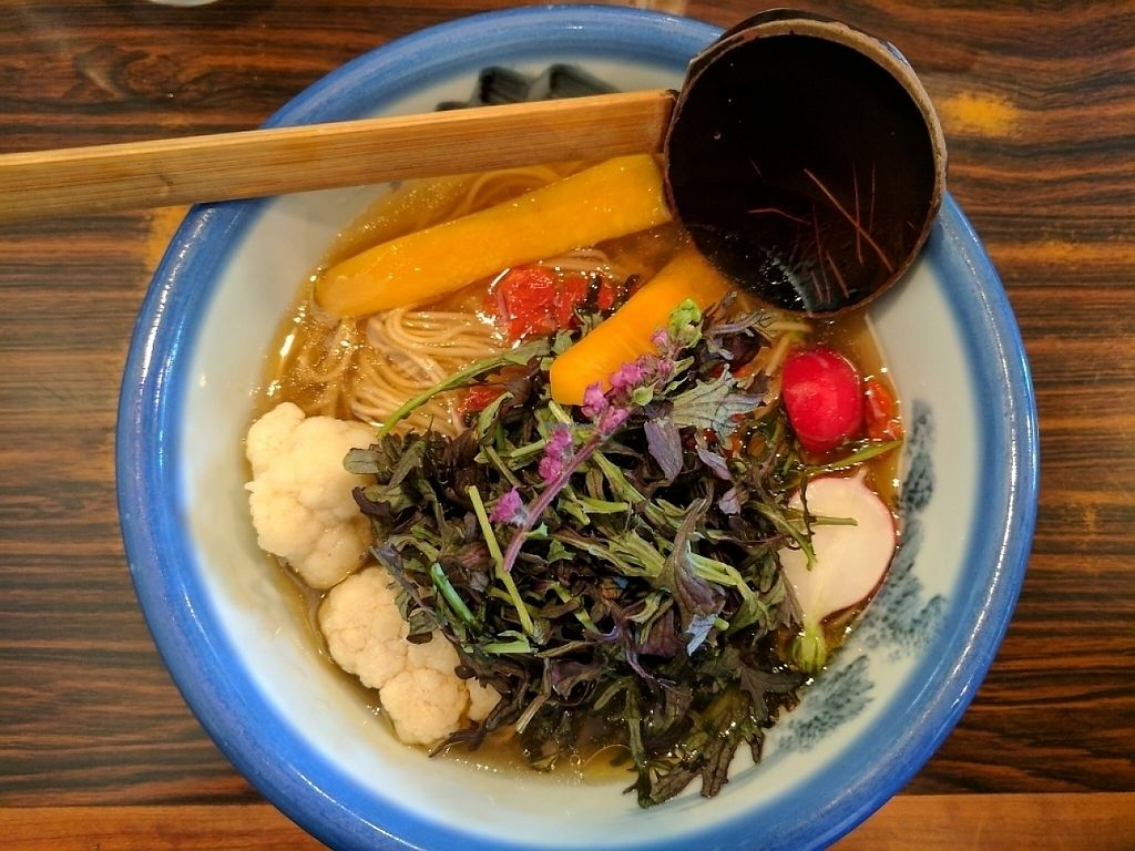 """Photo of Afuri  by <a href=""""/members/profile/Guacamole"""">Guacamole</a> <br/>Vegan ramen <br/> May 19, 2017  - <a href='/contact/abuse/image/92480/260473'>Report</a>"""