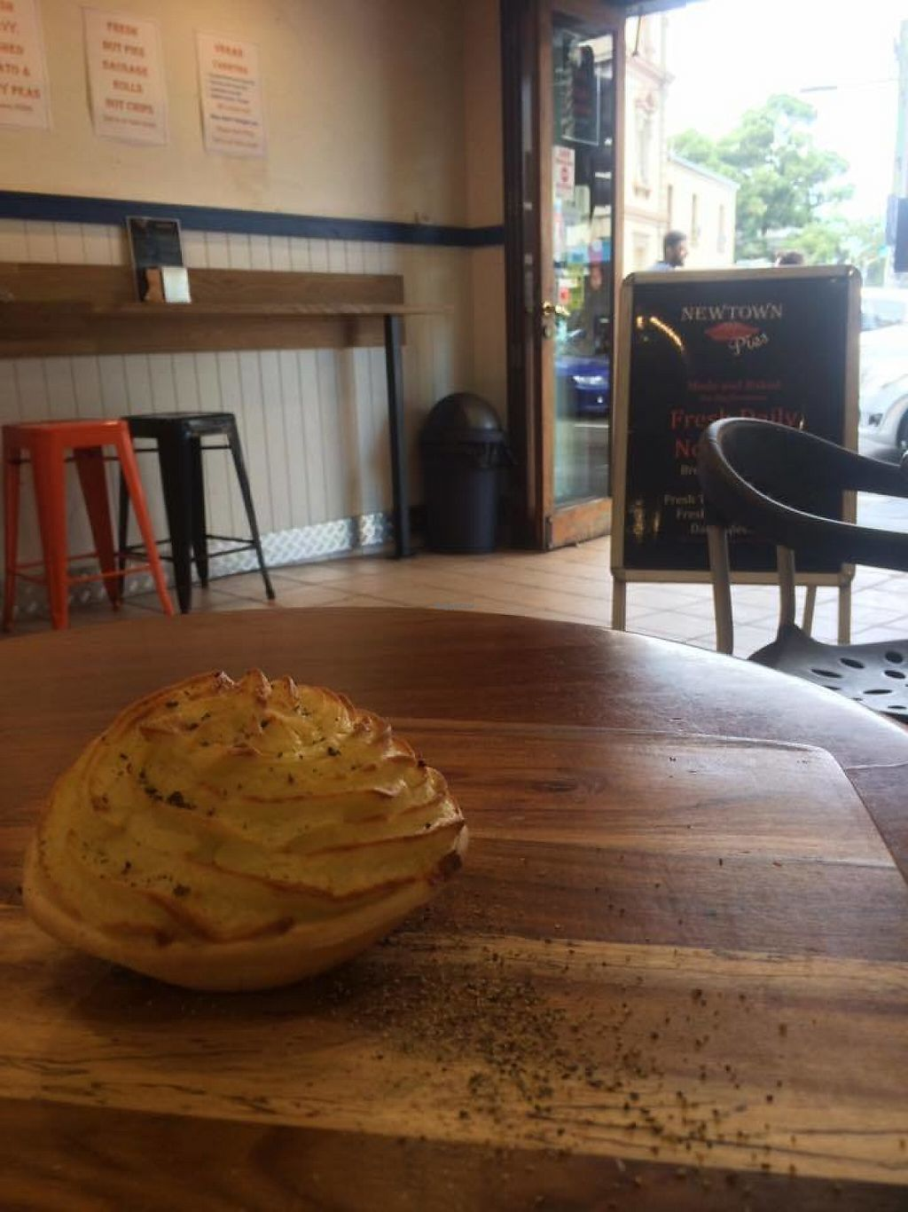 "Photo of Newtown Pies  by <a href=""/members/profile/community5"">community5</a> <br/>Potato topped chunky mushroom <br/> May 19, 2017  - <a href='/contact/abuse/image/92488/260379'>Report</a>"
