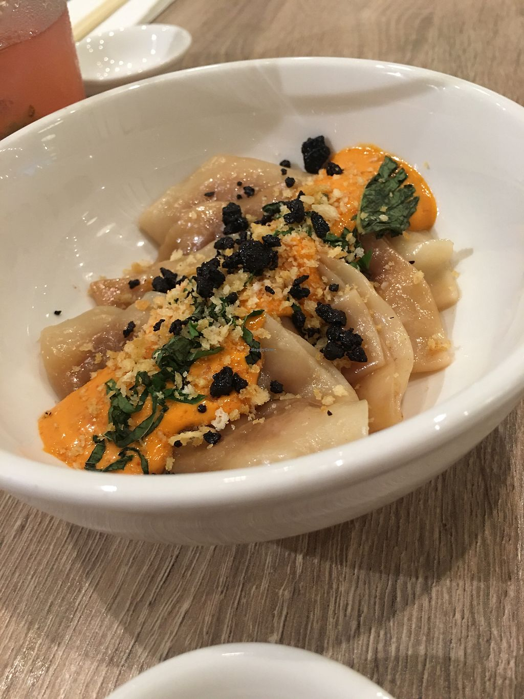 "Photo of Beyond Sushi - Herald Square  by <a href=""/members/profile/Jacalyn"">Jacalyn</a> <br/>seasonal dumplings (jackfruit) <br/> August 2, 2017  - <a href='/contact/abuse/image/92497/288025'>Report</a>"
