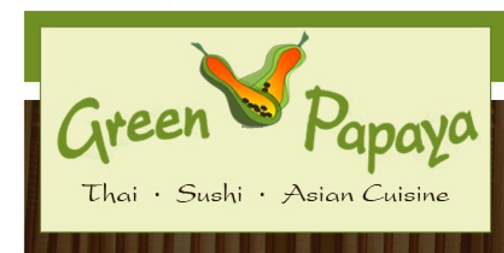 """Photo of Green Papaya  by <a href=""""/members/profile/RileyLimbach"""">RileyLimbach</a> <br/>sign/logo <br/> May 20, 2017  - <a href='/contact/abuse/image/92520/260668'>Report</a>"""