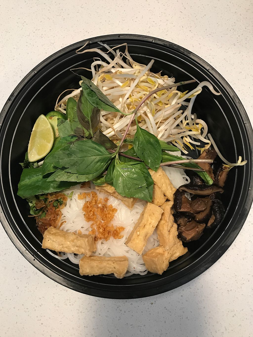 """Photo of Pho King - Midtown  by <a href=""""/members/profile/melissapedroso"""">melissapedroso</a> <br/>vegitarian noodle soup <br/> July 5, 2017  - <a href='/contact/abuse/image/92523/276940'>Report</a>"""