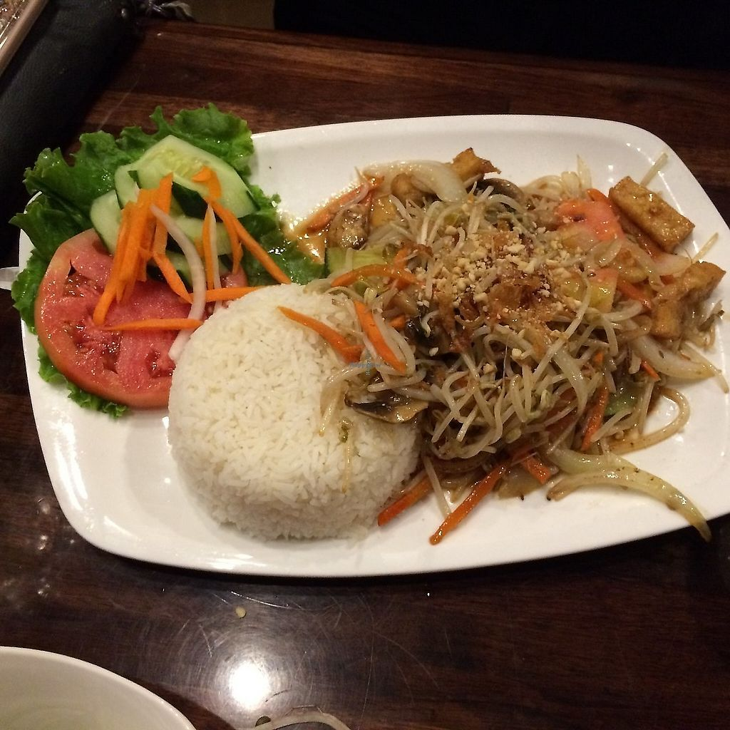 """Photo of Pho King - Midtown  by <a href=""""/members/profile/KatieBush"""">KatieBush</a> <br/>vegetarian veggie plate <br/> September 25, 2017  - <a href='/contact/abuse/image/92523/310974'>Report</a>"""