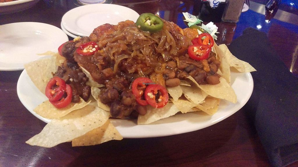 "Photo of Cane Island Bar & Grill  by <a href=""/members/profile/hrdial"">hrdial</a> <br/>Vegan nachos with jackfruit  <br/> May 20, 2017  - <a href='/contact/abuse/image/92534/260717'>Report</a>"
