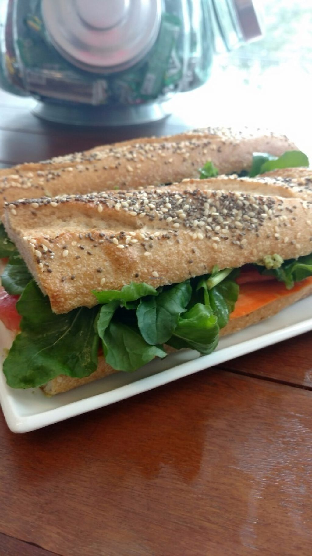 """Photo of Cafe da Krause  by <a href=""""/members/profile/augustokrause"""">augustokrause</a> <br/>Baguete Vegan! <br/> May 22, 2017  - <a href='/contact/abuse/image/92552/261335'>Report</a>"""