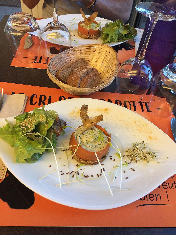 "Photo of CLOSED: Le Cri de la Carotte  by <a href=""/members/profile/Marie-Lucile"">Marie-Lucile</a> <br/>Cheese cake de la mer ! <br/> September 21, 2017  - <a href='/contact/abuse/image/92559/306861'>Report</a>"