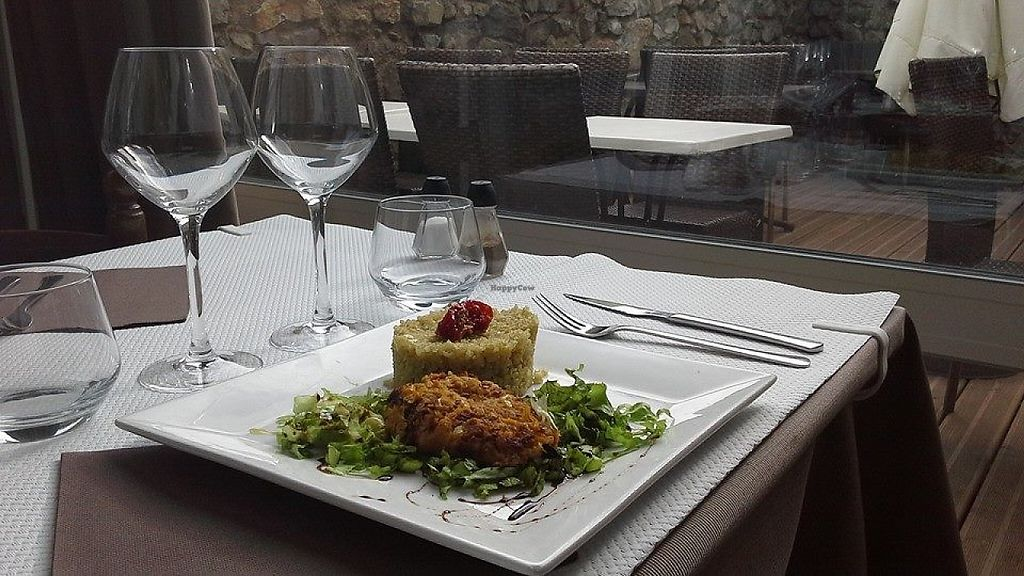 """Photo of Les Mille Poetes  by <a href=""""/members/profile/community5"""">community5</a> <br/>Butternut and quinoa croquette <br/> May 22, 2017  - <a href='/contact/abuse/image/92591/261407'>Report</a>"""