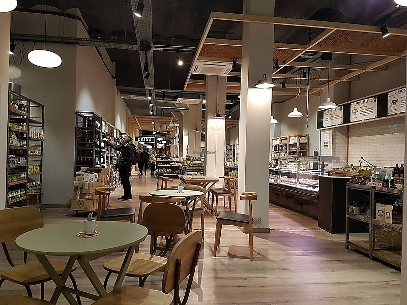 """Photo of Organic Market - Diagonal  by <a href=""""/members/profile/TrudiBruges"""">TrudiBruges</a> <br/>interior of shop <br/> February 5, 2018  - <a href='/contact/abuse/image/92597/355360'>Report</a>"""