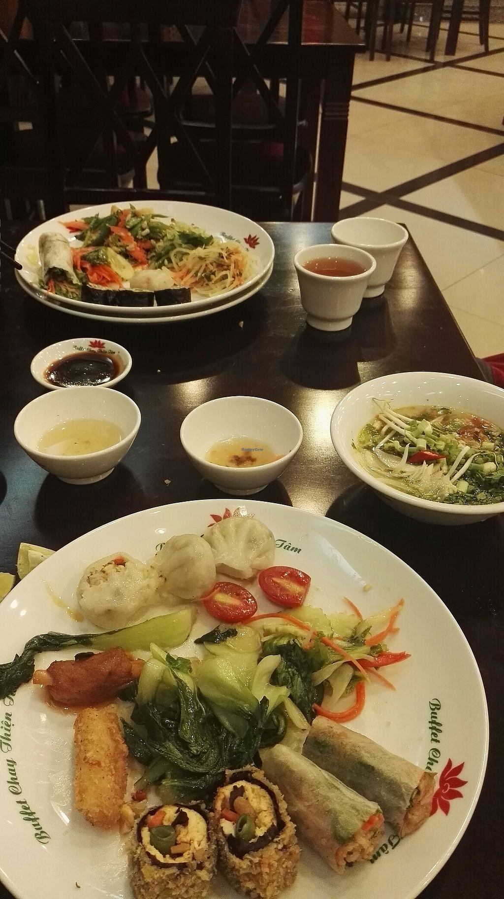 """Photo of Nha Hang Buffet Chay Thien Tam  by <a href=""""/members/profile/Valerius"""">Valerius</a> <br/>delicious food <br/> July 12, 2017  - <a href='/contact/abuse/image/92602/279458'>Report</a>"""