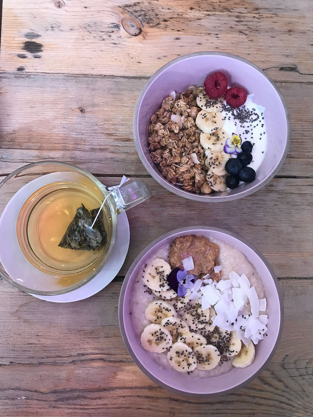 """Photo of Pom Kitchen  by <a href=""""/members/profile/Melissaj1990"""">Melissaj1990</a> <br/>breakfast bowls <br/> July 16, 2017  - <a href='/contact/abuse/image/92607/281194'>Report</a>"""