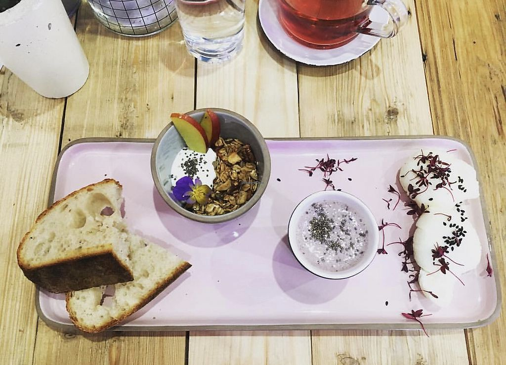 """Photo of Pom Kitchen  by <a href=""""/members/profile/BronwynMoorhouse"""">BronwynMoorhouse</a> <br/>Breakfast Board <br/> January 20, 2018  - <a href='/contact/abuse/image/92607/349081'>Report</a>"""