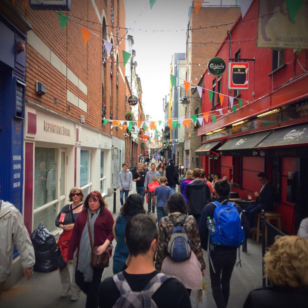 "Photo of Vegan Dublin Food Tour  by <a href=""/members/profile/Mr_Jackman"">Mr_Jackman</a> <br/>Heading to our next venue! <br/> June 5, 2017  - <a href='/contact/abuse/image/92631/266073'>Report</a>"