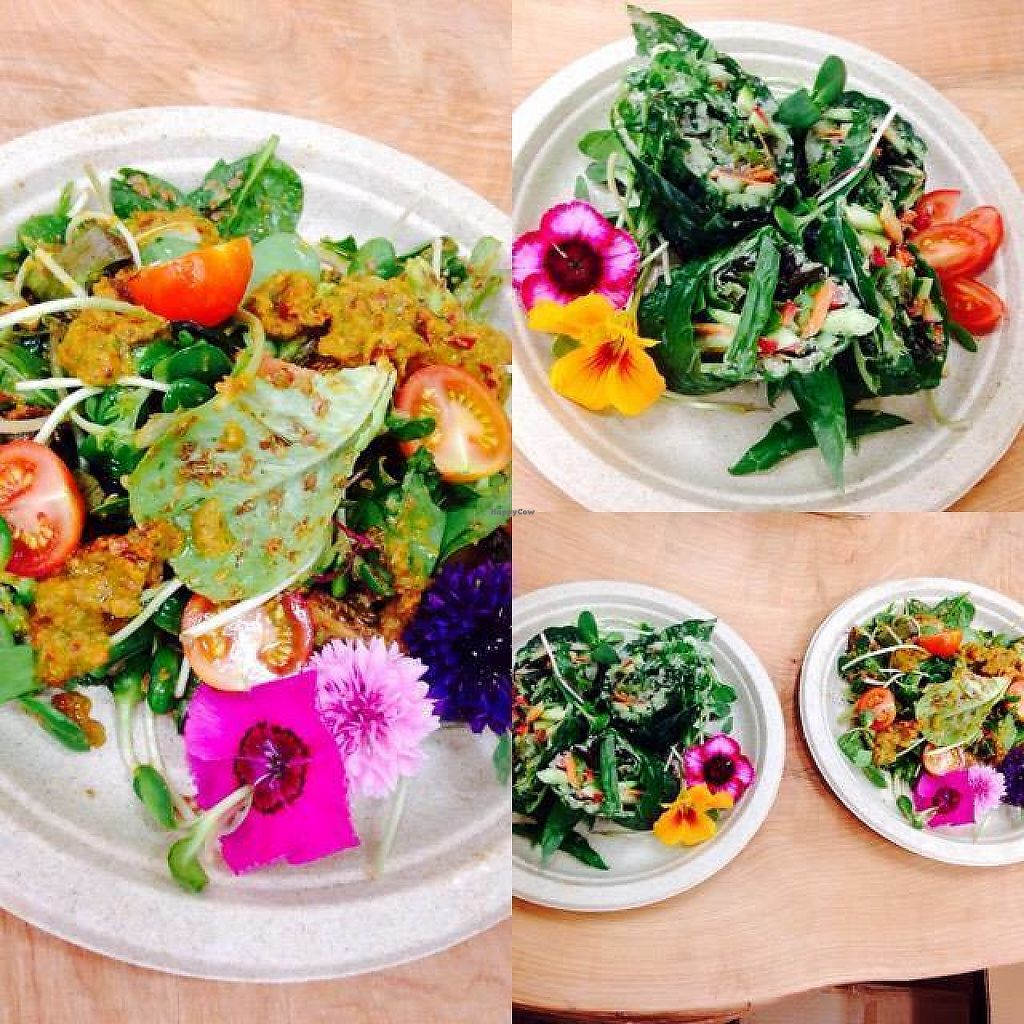 """Photo of Inspire Wellness Organics  by <a href=""""/members/profile/JayReece"""">JayReece</a> <br/>Summer salads at Inspire  <br/> May 23, 2017  - <a href='/contact/abuse/image/92646/261578'>Report</a>"""