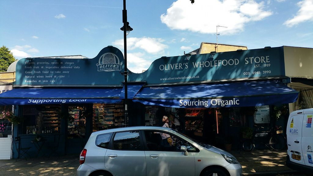 """Photo of Olivers Wholefood Store  by <a href=""""/members/profile/jollypig"""">jollypig</a> <br/>Outside <br/> August 19, 2017  - <a href='/contact/abuse/image/9265/294302'>Report</a>"""