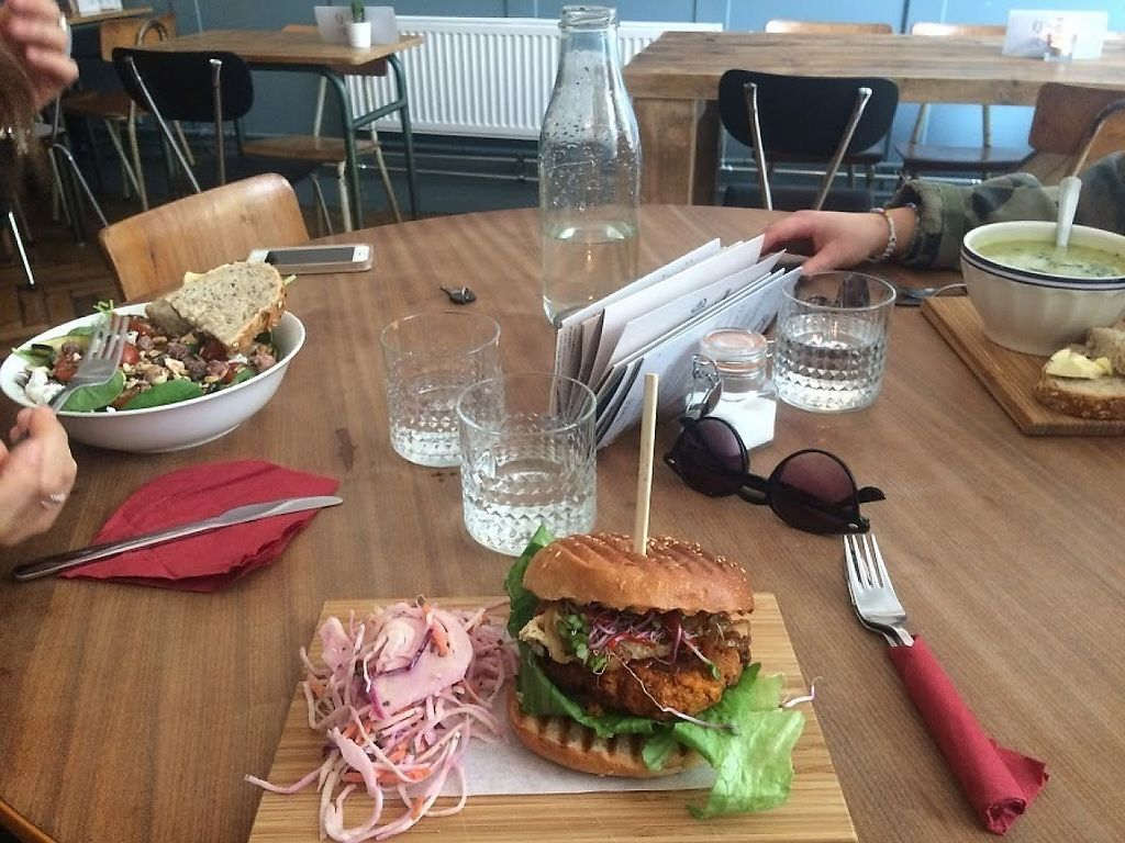 """Photo of Bar Cali  by <a href=""""/members/profile/Rohma"""">Rohma</a> <br/>Sweet potato burger <br/> May 24, 2017  - <a href='/contact/abuse/image/92661/262091'>Report</a>"""