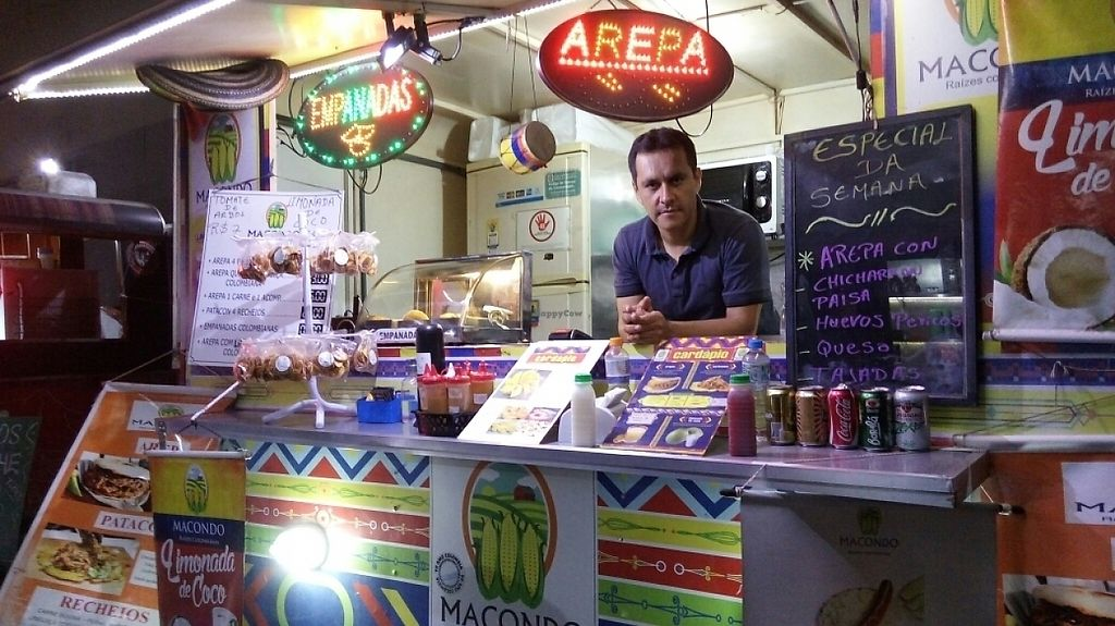 "Photo of Macondo Raizes Colombianas - Food Truck  by <a href=""/members/profile/bfeitosa"">bfeitosa</a> <br/>food truck <br/> May 24, 2017  - <a href='/contact/abuse/image/92674/262004'>Report</a>"