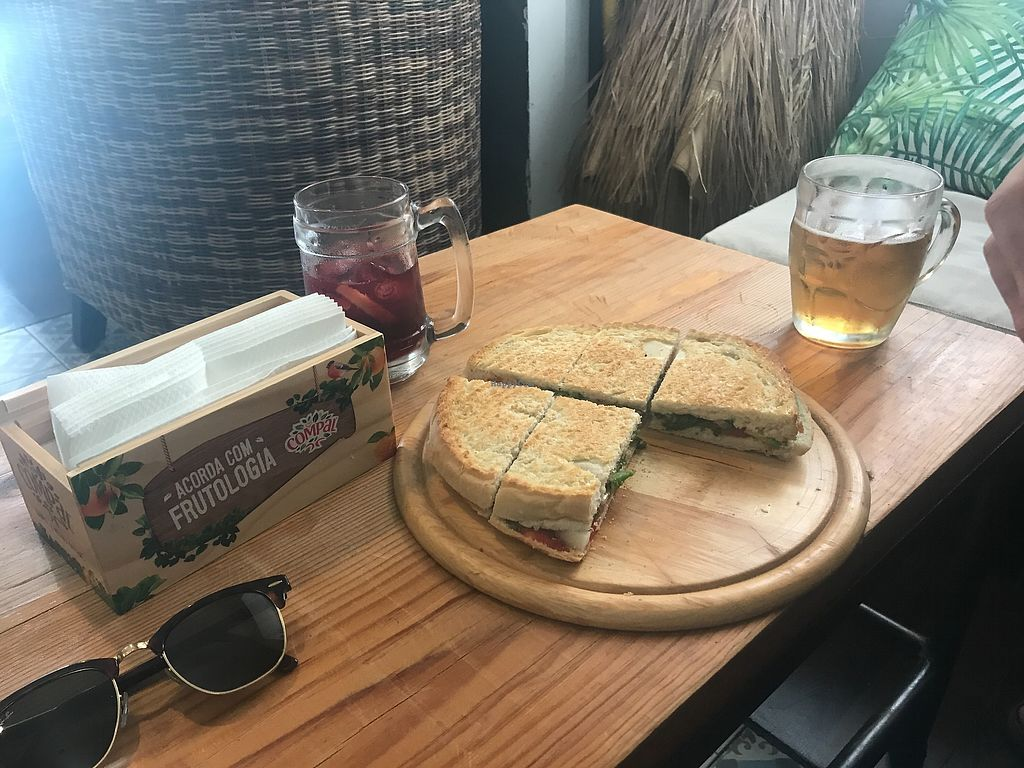 "Photo of Sunset Bamboo Bar  by <a href=""/members/profile/Green-is-good"">Green-is-good</a> <br/>Vegetarian sandwich, reasonable price. Can be made vegan.  <br/> September 25, 2017  - <a href='/contact/abuse/image/92680/308464'>Report</a>"