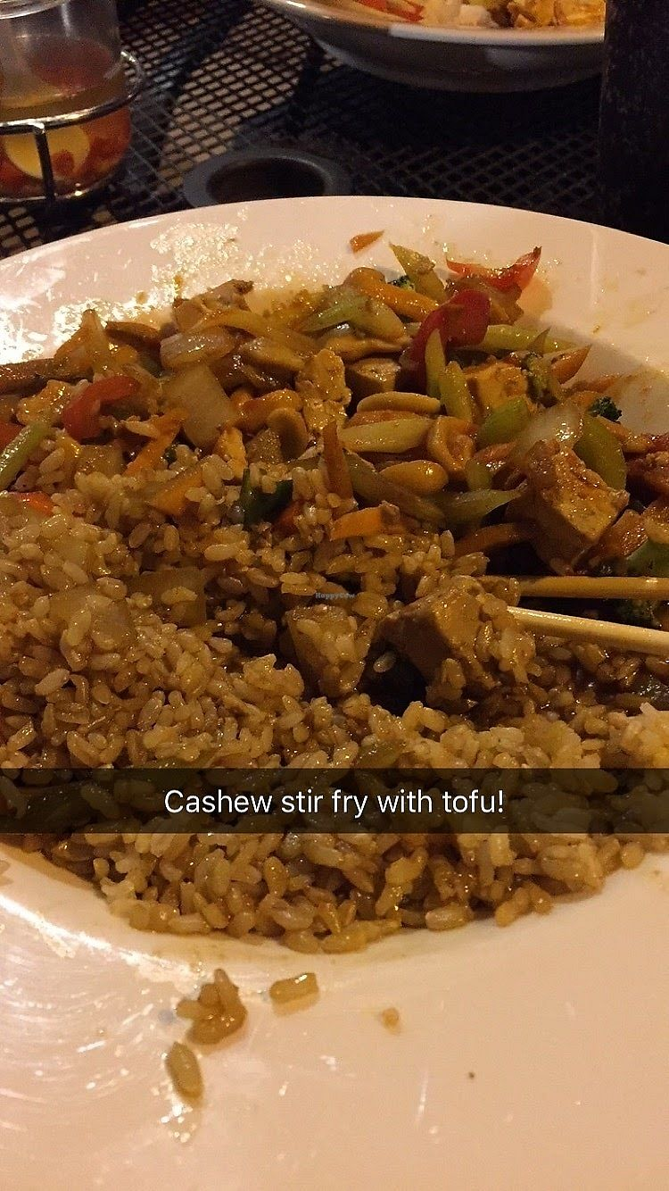 "Photo of Esaan Thai Restaurant  by <a href=""/members/profile/Jamie9705"">Jamie9705</a> <br/>Cashew Stir Fry w/ tofu! <br/> September 14, 2017  - <a href='/contact/abuse/image/92681/304286'>Report</a>"