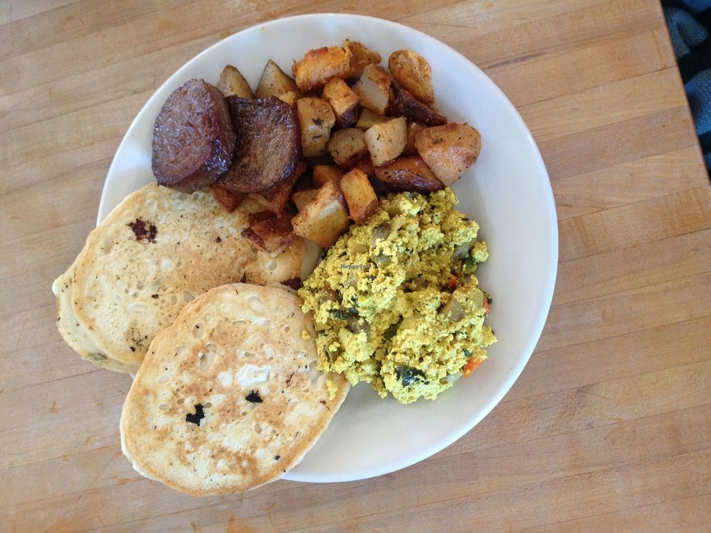 """Photo of Cafe Evolution  by <a href=""""/members/profile/kelwood13"""">kelwood13</a> <br/>Sampler Brunch Plate <br/> February 17, 2016  - <a href='/contact/abuse/image/9268/136700'>Report</a>"""