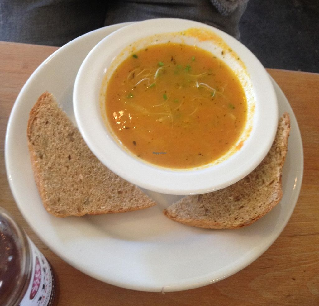 """Photo of Cafe Evolution  by <a href=""""/members/profile/kelwood13"""">kelwood13</a> <br/>Carrot and Cabbage Soup <br/> February 28, 2016  - <a href='/contact/abuse/image/9268/202734'>Report</a>"""