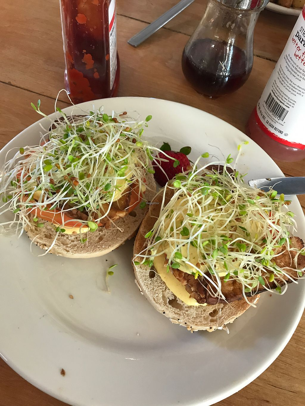 """Photo of Cafe Evolution  by <a href=""""/members/profile/KrystalPotenza"""">KrystalPotenza</a> <br/>bagel Benedict. phenomenal  <br/> July 30, 2017  - <a href='/contact/abuse/image/9268/286697'>Report</a>"""