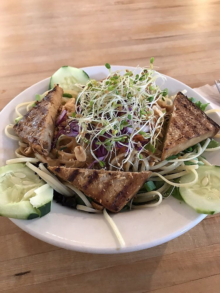 """Photo of Cafe Evolution  by <a href=""""/members/profile/nlevine94"""">nlevine94</a> <br/>Evolution Noodles - warm version (option to order them cold too <br/> November 11, 2017  - <a href='/contact/abuse/image/9268/324250'>Report</a>"""