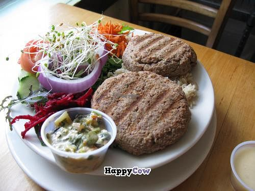 "Photo of Cafe Evolution  by <a href=""/members/profile/slithers"">slithers</a> <br/>Red bean cakes and salad <br/> August 25, 2013  - <a href='/contact/abuse/image/9268/53741'>Report</a>"