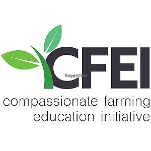 """Photo of Compassionate Farming Education Initiative  by <a href=""""/members/profile/kellisritter"""">kellisritter</a> <br/>CFEI Logo <br/> September 14, 2017  - <a href='/contact/abuse/image/92693/304550'>Report</a>"""