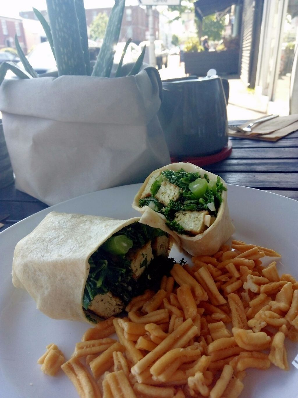 """Photo of 387 Ormeau Road  by <a href=""""/members/profile/Dannimm"""">Dannimm</a> <br/>Tofu kale wrap  <br/> May 26, 2017  - <a href='/contact/abuse/image/92697/262623'>Report</a>"""